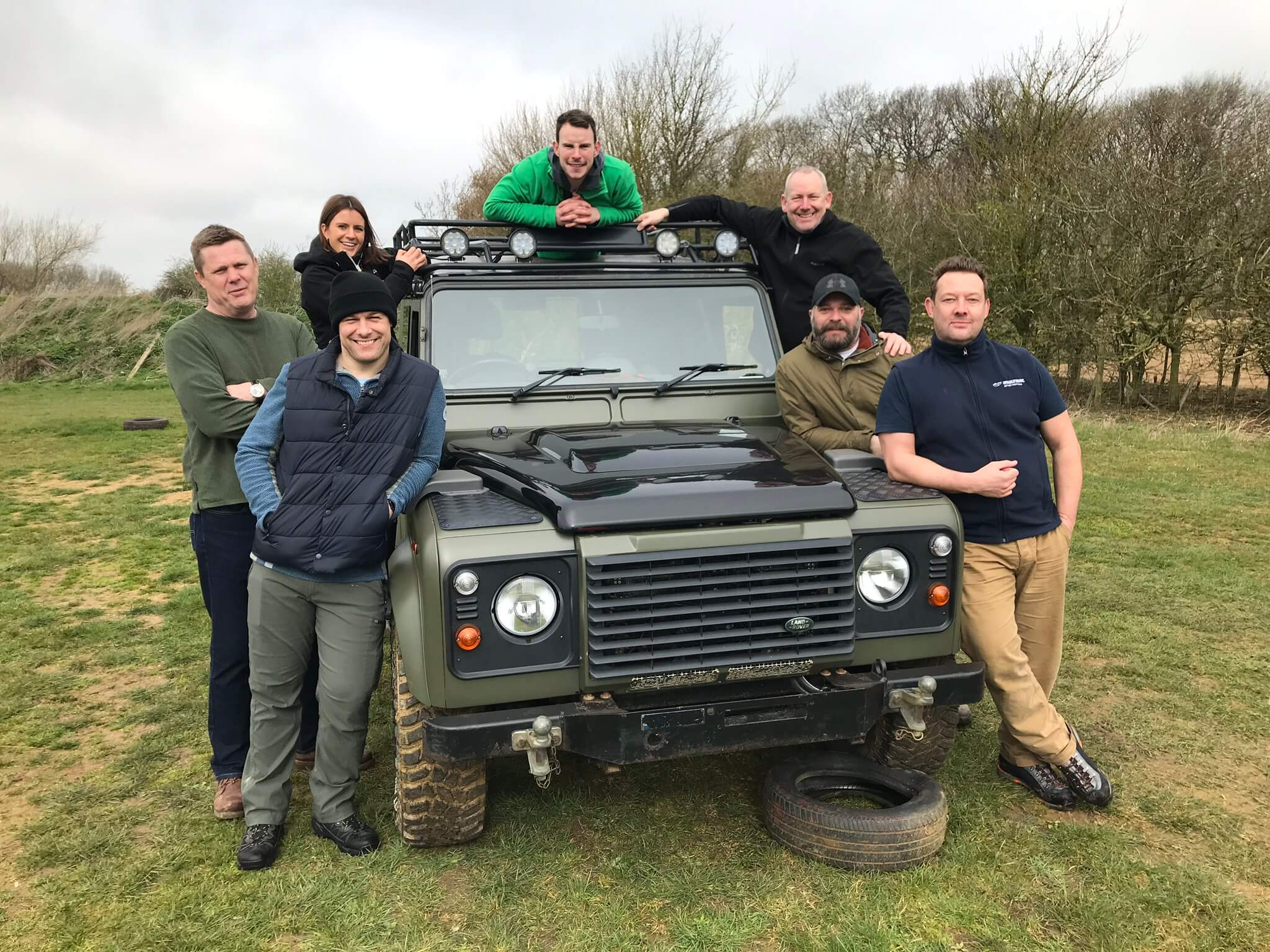 Everyone love to pose with our Landy
